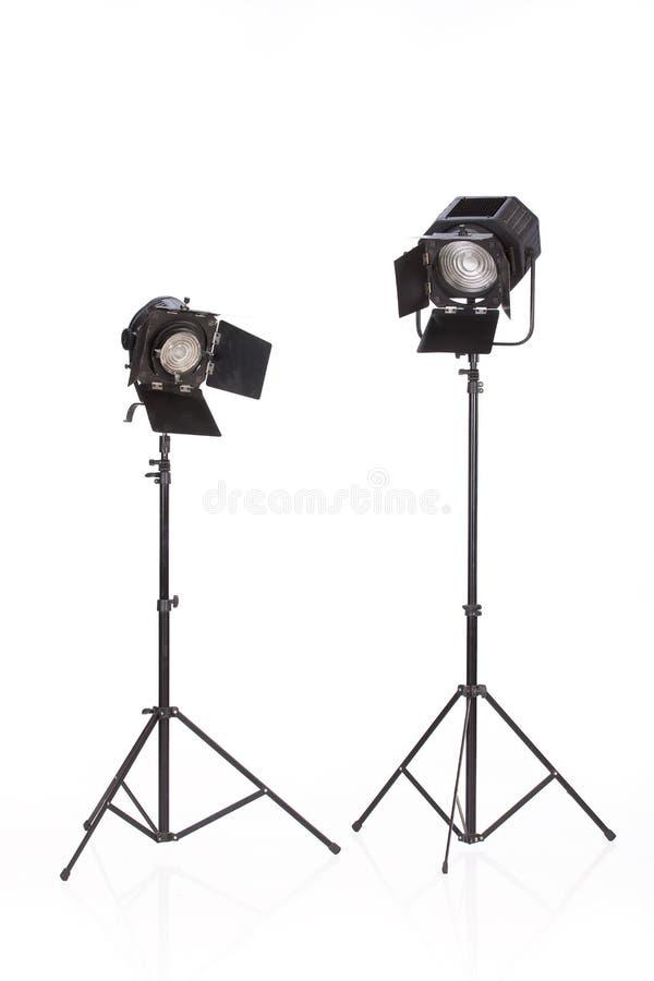 oświetleniowy retro studio obrazy royalty free