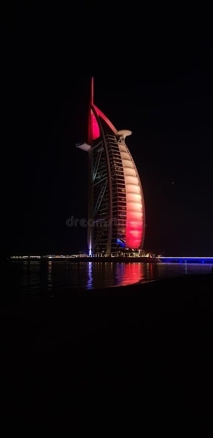 O árabe bonito do al de Burj fotos de stock royalty free