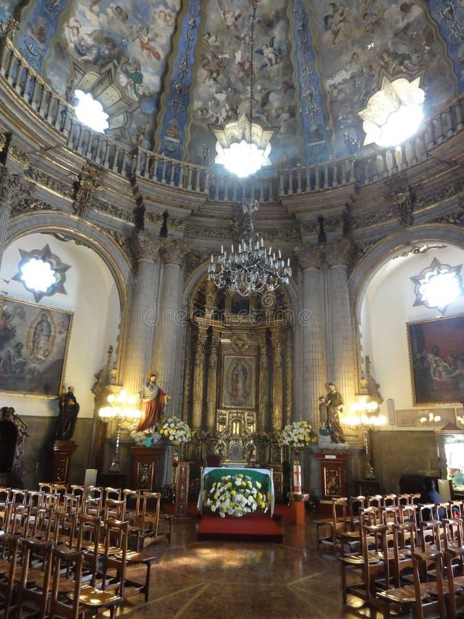 """O †""""México de Nosso-Senhora--Guadalupe da basílica imagens de stock royalty free"""