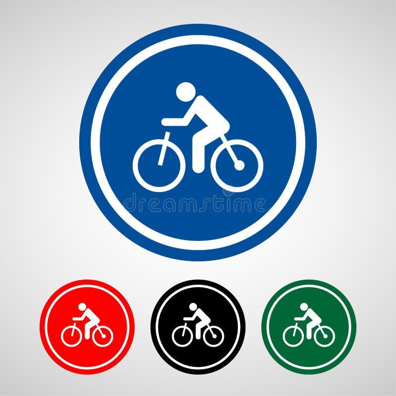 O ícone da bicicleta grande para alguns usa-se Vetor eps10 fotos de stock