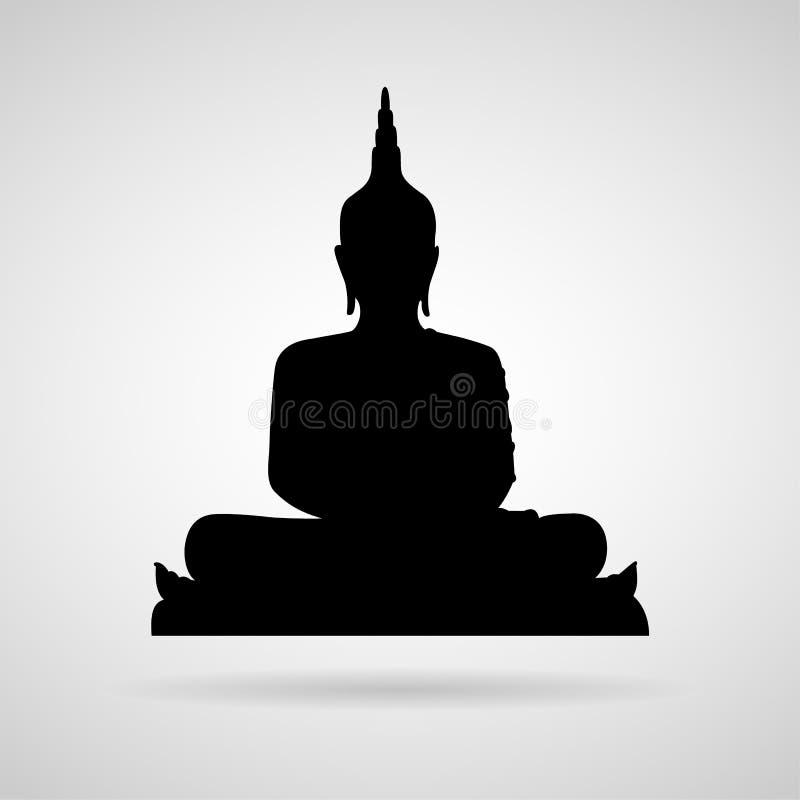 O ícone da Buda grande para alguns usa-se Vetor eps10 fotos de stock