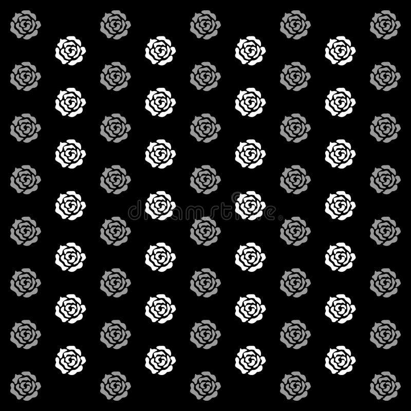 O ícone de Rose Background grande para alguns usa-se Vetor eps10 ilustração stock
