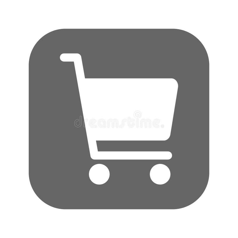 O ícone do vetor da carta da compra, vector o melhor ícone liso, EPS ilustração royalty free