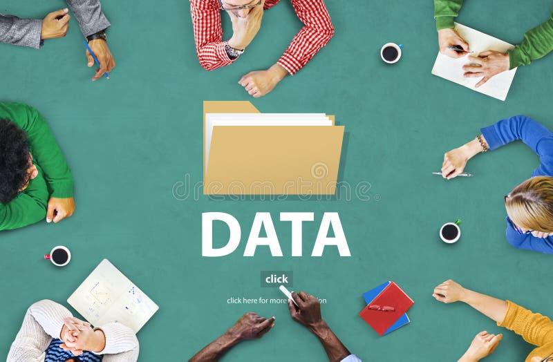 O índice do índice dos arquivos detalha o conceito dos arquivos de original imagem de stock