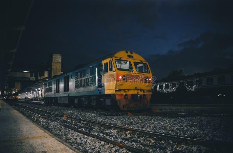 O último trem fotografia de stock royalty free