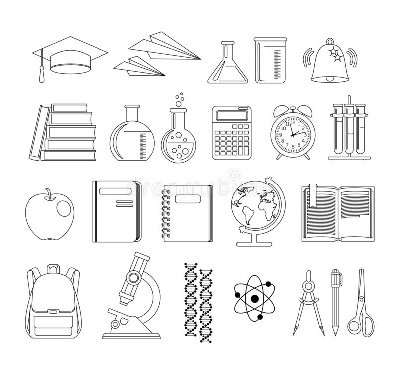 o Εικονίδια καθορισμένα r απεικόνιση αποθεμάτων