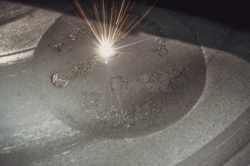 o металл печатания принтера 3D стоковые изображения