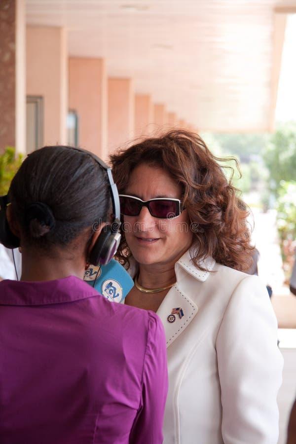 O 3ö aniversário da independência de Cabo Verde imagens de stock royalty free