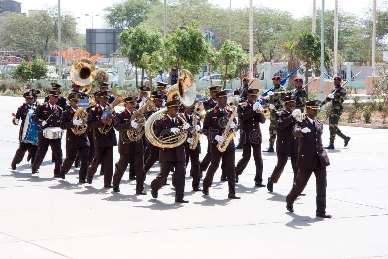 O 3ö aniversário da independência de Cabo Verde fotografia de stock