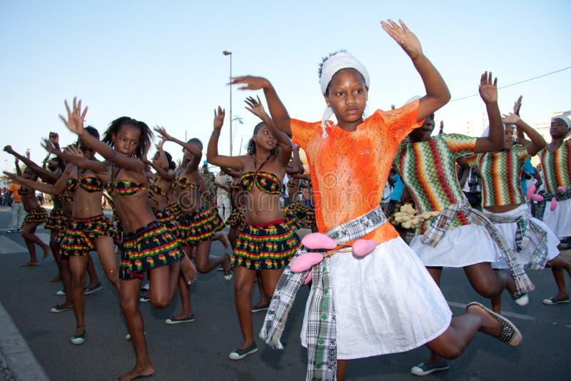 O 3ö aniversário da independência de Cabo Verde fotos de stock