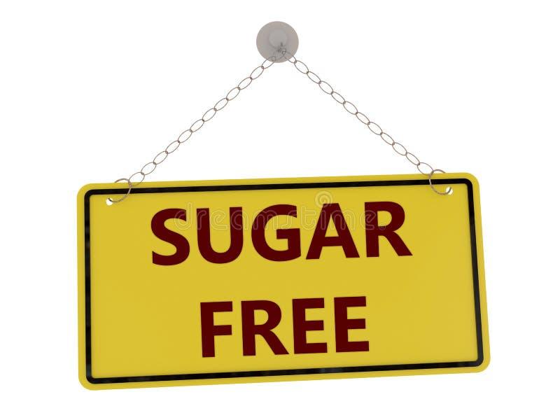 O açúcar livra o sinal ilustração royalty free