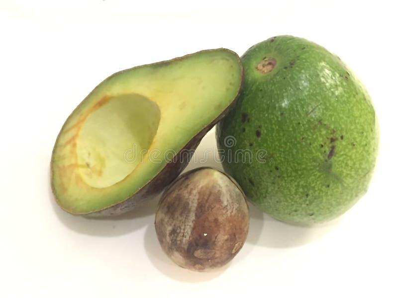 O abacate é o melhor ting que deve comer imagem de stock