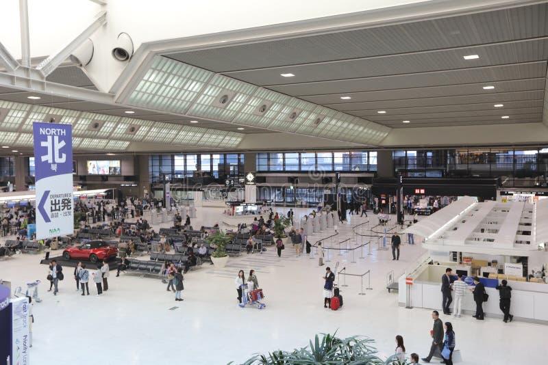 O aeroporto de Kagoshima é um aeroporto situado em Kirishima imagem de stock royalty free