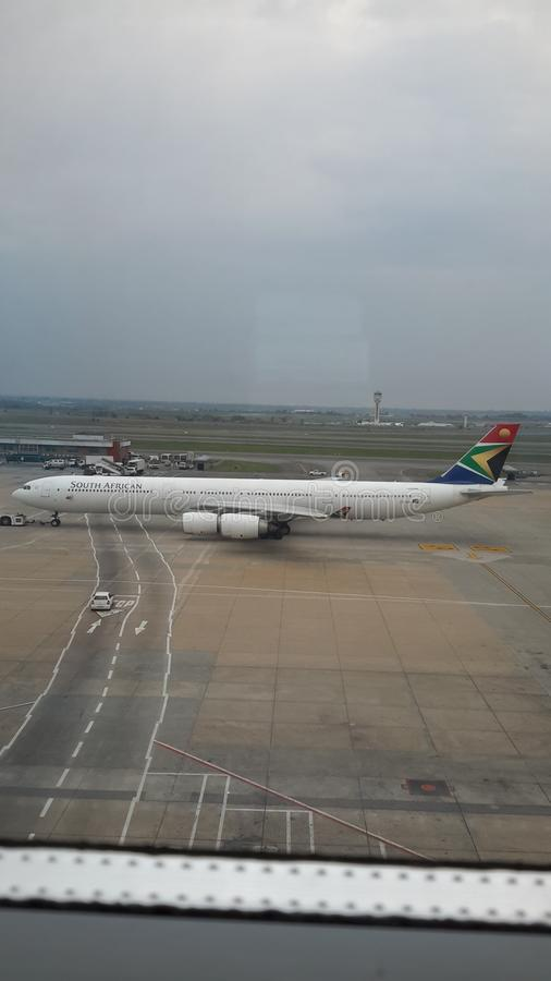 O aeroporto dell'internazionale di thambo fotografia stock libera da diritti