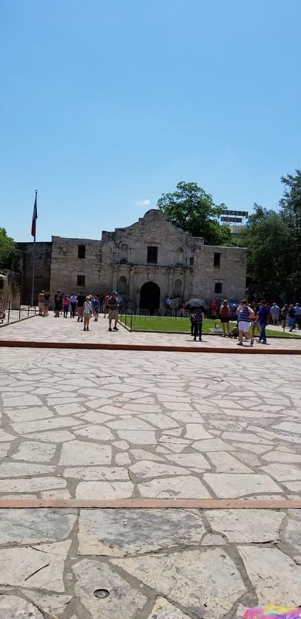 O Alamo imagem de stock