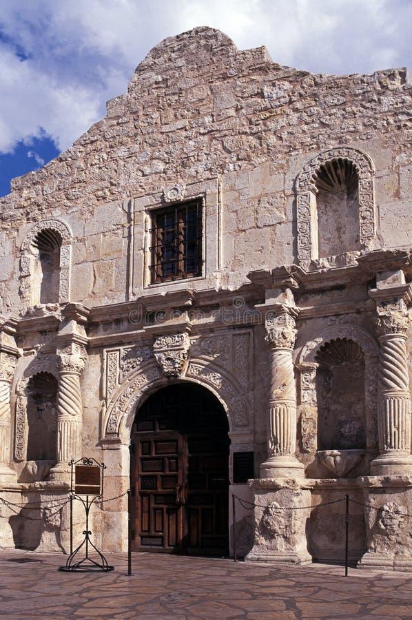 O Alamo, San Antonio, EUA. fotografia de stock royalty free