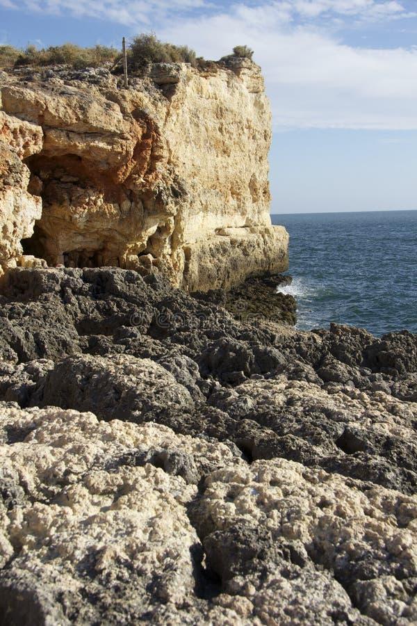 O Algarve Portugal fotografia de stock