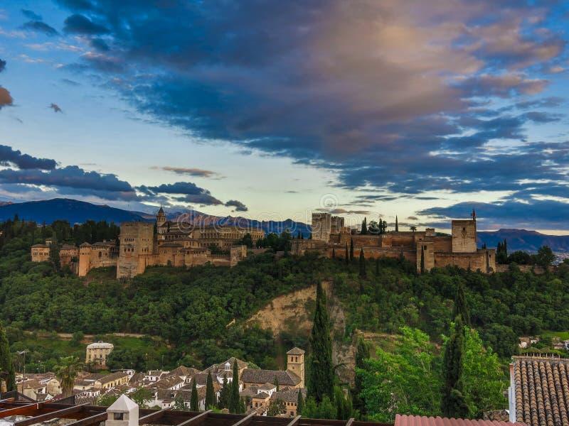 O Alhambra (4) fotos de stock royalty free