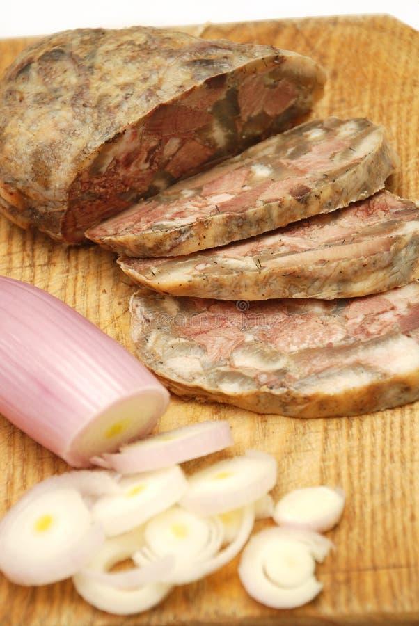 O alimento romeno tradicional chamou toba foto de stock