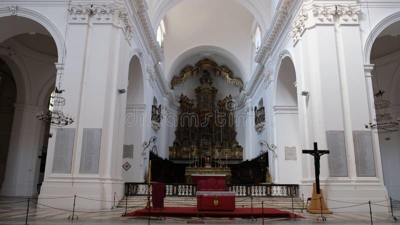 O altar vazio imagens de stock royalty free
