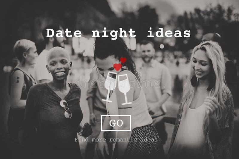 O amor cita o conceito romance do Web site dos Valentim imagem de stock