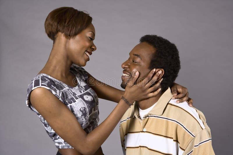O amor está no ar! fotografia de stock royalty free