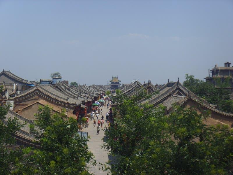 O AncientCity de Ping Yao foto de stock royalty free