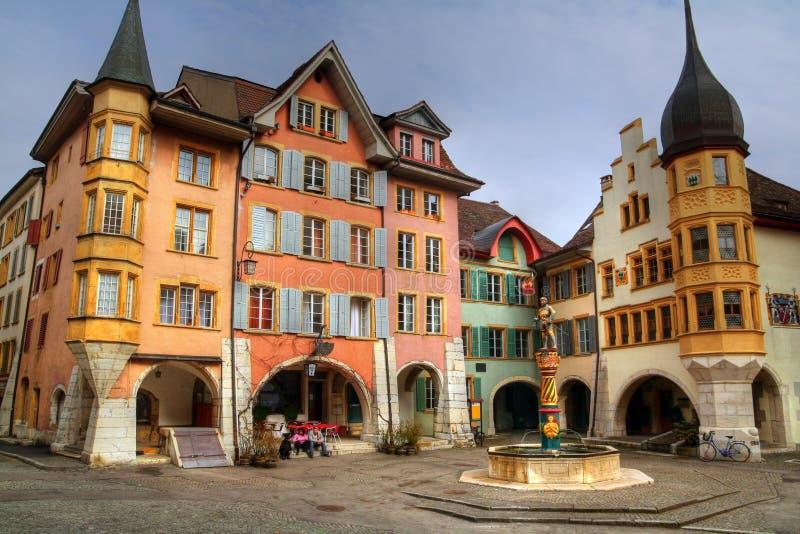 O anel 01, Biel (Bienne), Switzerland imagem de stock royalty free
