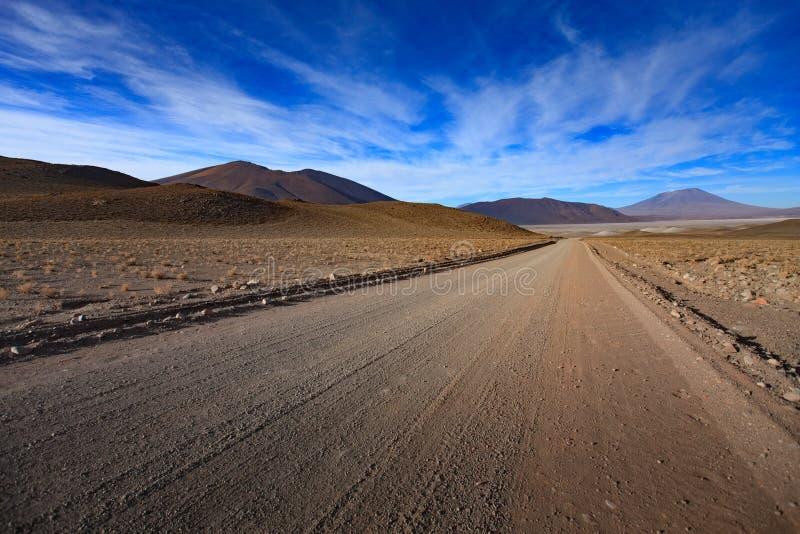 O anfiteatro ? forma??o geological bonita de vale da lua no deserto de Atacama, o Chile imagens de stock