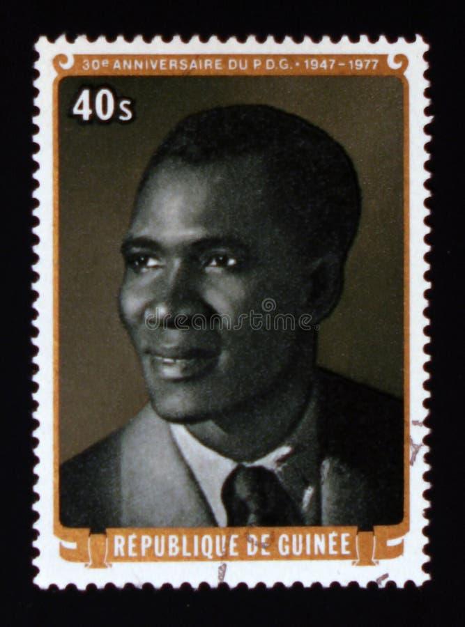 30o aniversário do partido Democrática da Guiné, serie, cerca de 1977 foto de stock