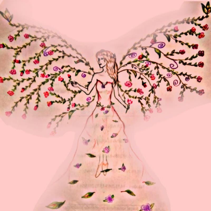 O anjo da natureza fotografia de stock royalty free