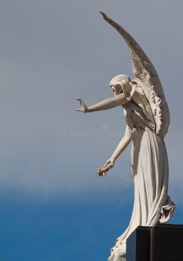 O anjo de Recoleta fotos de stock royalty free