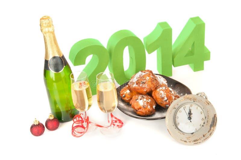 O ano 2014 imagem de stock