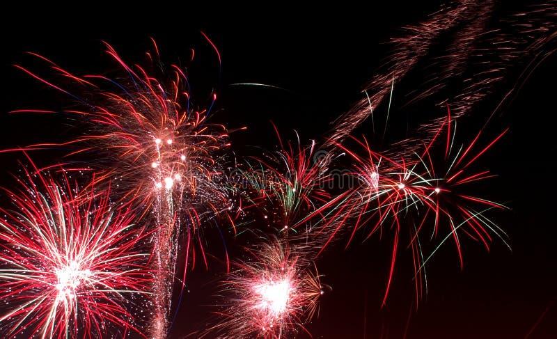 O ano novo das estrelas foto de stock royalty free