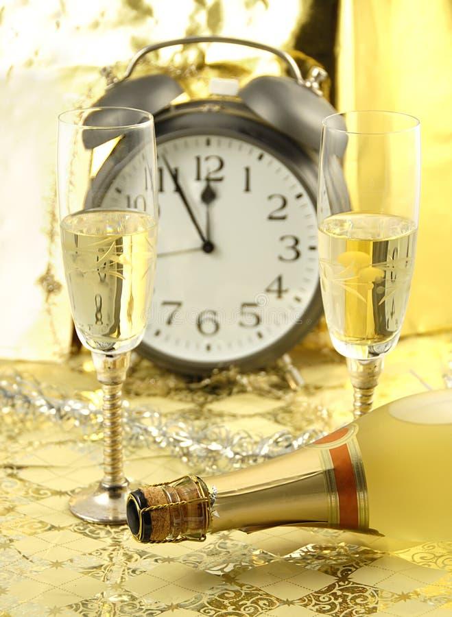 O ano novo está aqui fotografia de stock