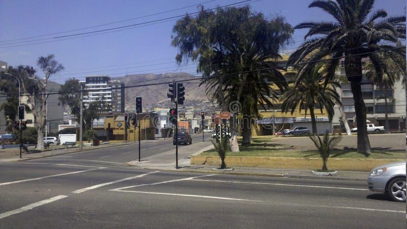 O Antofagasta pacífico o Chile imagem de stock royalty free