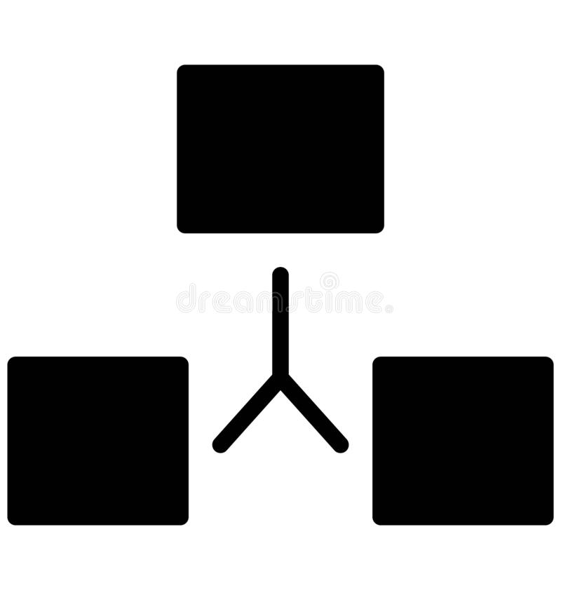 O App isolou o ícone do vetor que pode facilmente alterar ou editar ilustração do vetor