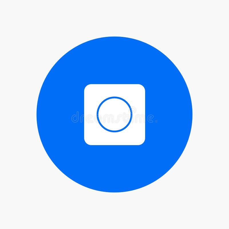O App, navegador, maximiza ilustração stock