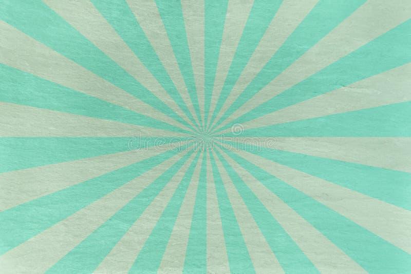 O Aqua e a hortelã slate o fundo - com starburst retro imagens de stock royalty free