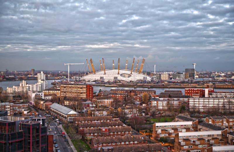 O2 arène, Millennium Dome, image stock
