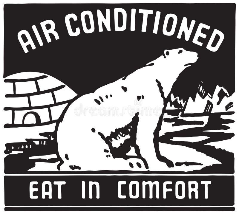 O ar condicionou 3 ilustração royalty free
