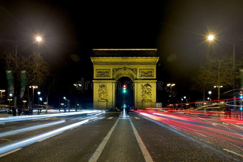 O Arc de Triomphe imagem de stock royalty free