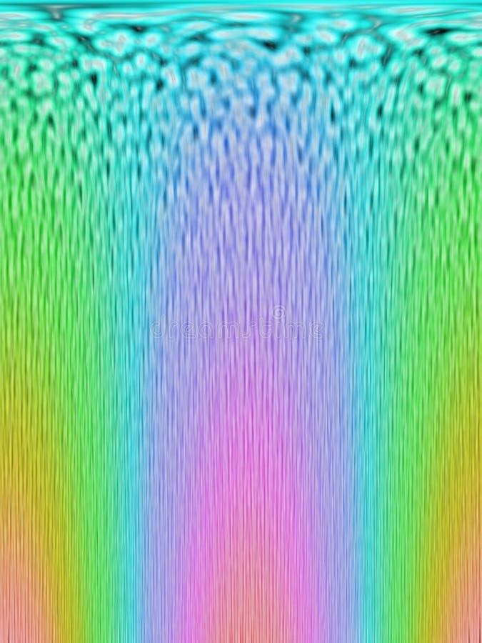 O arco-íris abstrato colore a diversidade, imagem de stock royalty free