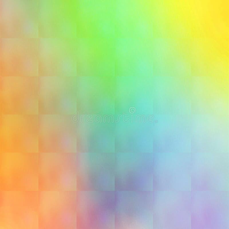 O arco-íris abstrato colore o teste padrão do fundo fotografia de stock