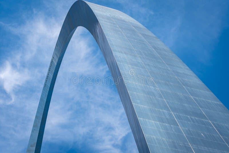 O arco da entrada em Saint Louis Missouri fotografia de stock
