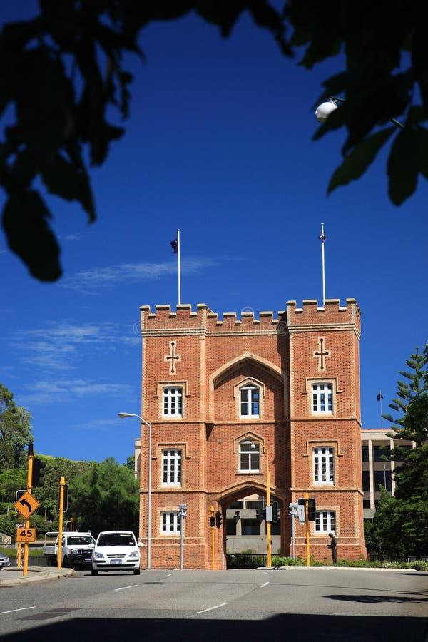 O arco das casernas, Perth imagem de stock royalty free