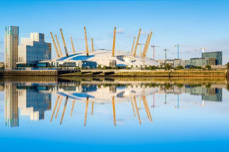 O2 Arena in London royalty free stock photos