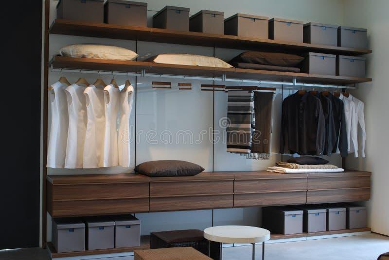 O armário imagens de stock