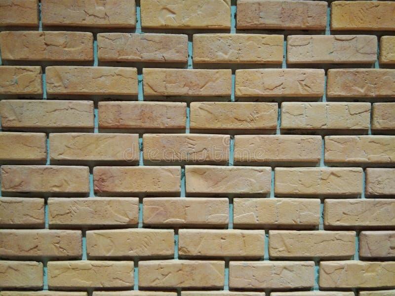 O arranjo da parede de tijolo fotografia de stock