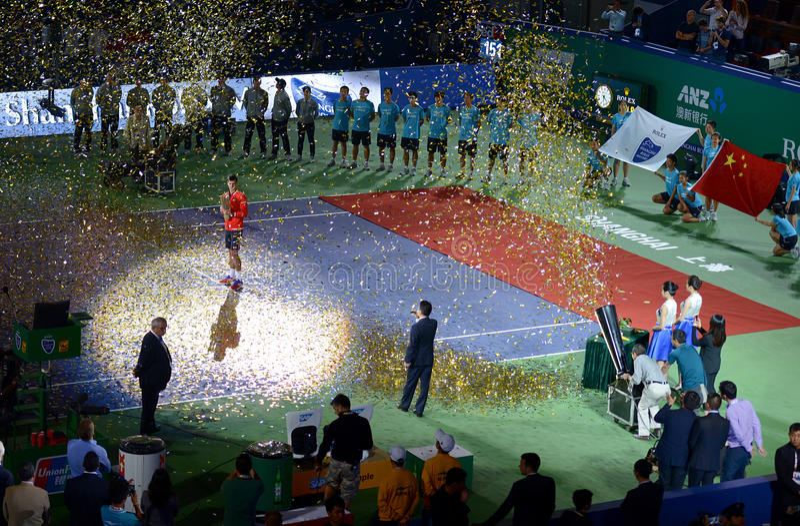 O ATP 2015 de Shanghai domina 1000 fotos de stock royalty free